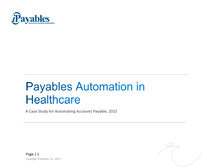 Payables in Healthcare